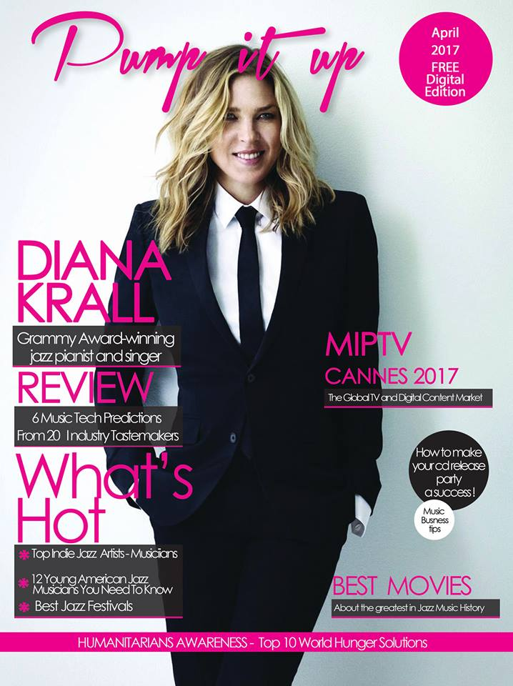 DIANA KRALL COVER MAG