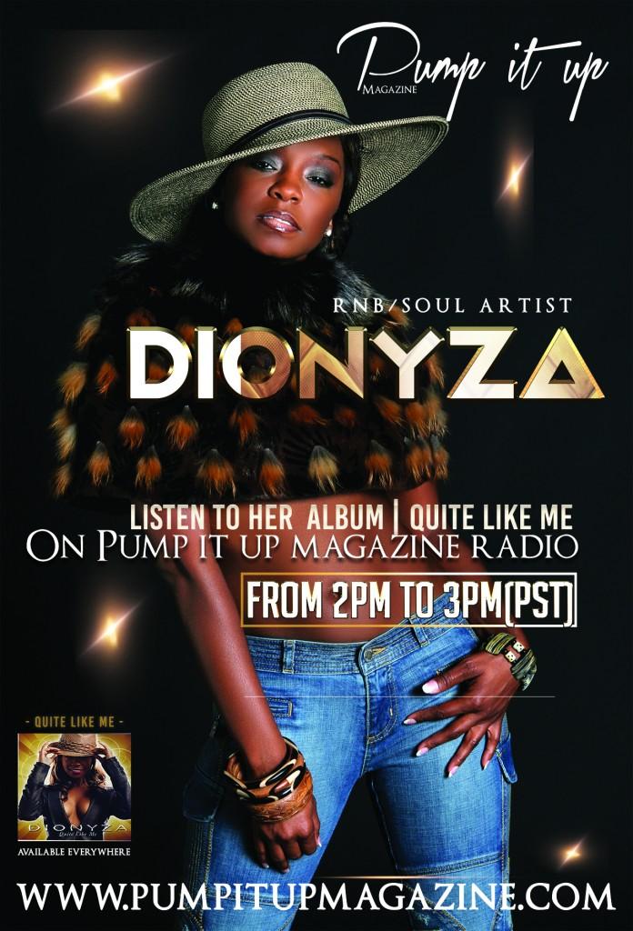 flyer dionyza pump it up magazine radio