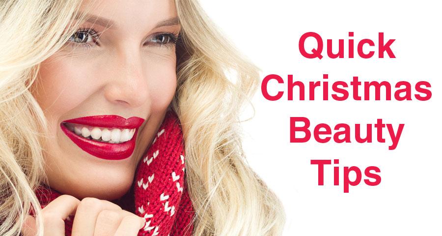 Christmas Beauty.Top 7 Christmas Beauty Tips