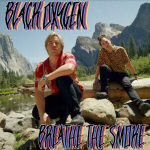 CD COVER - pop/rap band-  Black Oxygen