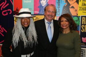 Mary Wilson, Mark Bego, Freda Payne